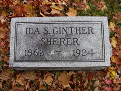 Ida S. Ginther <i>Noyer</i> Sherer