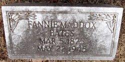 Fannie <i>Maddox</i> Bates