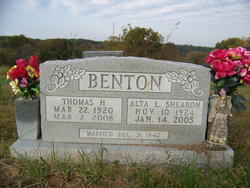 Alta L <i>Shearon</i> Benton