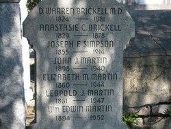 Anastasie Catherine <i>Welham</i> Brickell