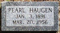 Pearl Haugen