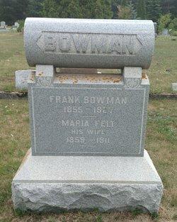 Maria <i>Felt</i> Bowman
