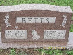 Eunice T. <i>Tigert</i> Betts