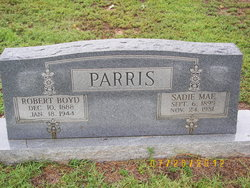 Sadie Mae <i>Parris</i> Minton