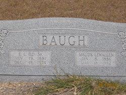 Maude Mae <i>Lewallen</i> Baugh