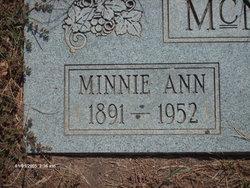 Minnie Ann Josephine Lewis Davis McNair
