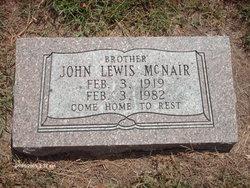 John Lewis Boney McNair
