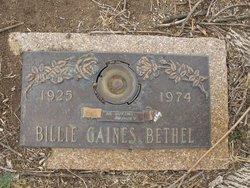 Billie Gaines Bethel