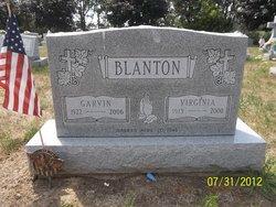 Viginia <i>Daniels</i> Blanton