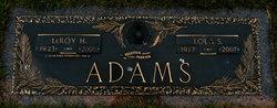 LeRoy H Adams