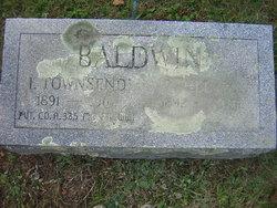 I Townsend Baldwin
