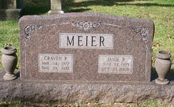 Janie Ruth <i>Taylor</i> Meier