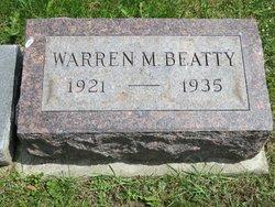Warren M Beatty