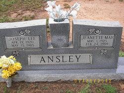 Jeanette May <i>Black</i> Ansley