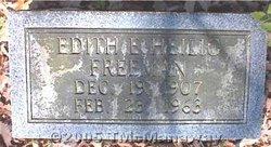 Edith E. <i>Heilig</i> Freeman