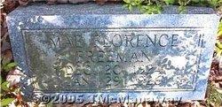 Mae Florence Freeman