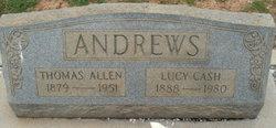 Lucy Mae <i>Cash</i> Andrews