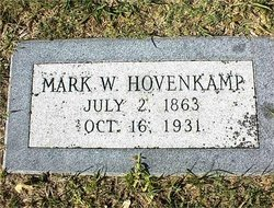 Marcus William Mark Hovenkamp, Sr