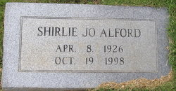 Shirlie Jo Alford