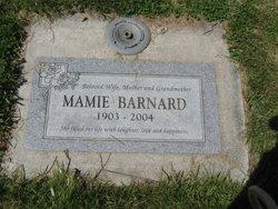 Mary Mamie <i>Barta</i> Barnard