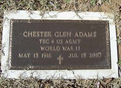 Chester Glen Adams