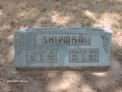 Martha Ann Shipman