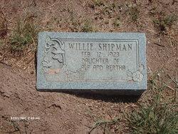 Willie Shipman