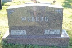 Lillian Margaret <i>Wahlund</i> Weberg