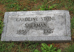 Caroline <i>Stone</i> Sherman