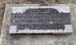 Rebecca <i>Daniel</i> Morris