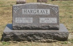 Jessie L. <i>Van Horn Hargrave</i> Coriell