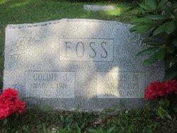 Goldie Josephine <i>Sargent</i> Foss