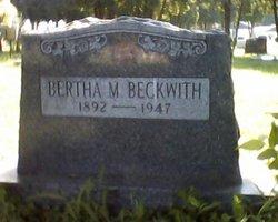 Bertha M Beckwith