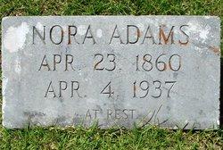 Nora <i>Barrett</i> Adams