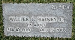 Walter Charles Haines, Jr