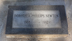Dorothea Anne <i>Phillips</i> Newton