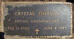 Crystal Dotson