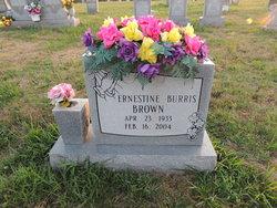 Ernestine <i>Burris</i> Brown