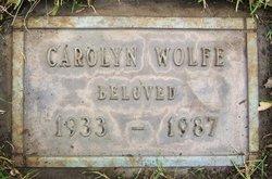 Carolyn H. Edna C. Lewis <i>Hebrard</i> Wolfe