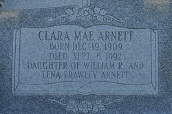 Clara Mae <i>Arnett</i> Redd