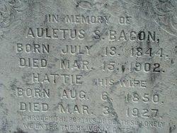 Aleutus S Bacon