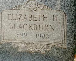 Mary Elizabeth Liz <i>Hancock</i> Blackburn