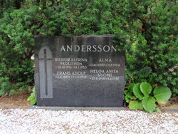 Hildur Alfrina <i>Weckstr�m</i> Andersson