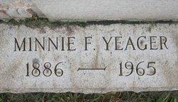 Minnie F. <i>Goldsmith</i> Yeager