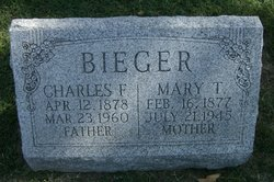 Charles F Bieger