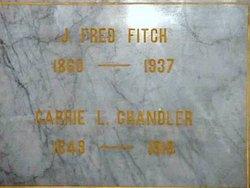 Carrie L <i>Bennett</i> Church-Chandler