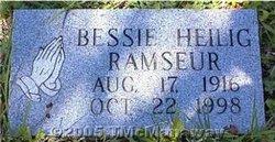 Bessie <i>Heilig</i> Ramseur