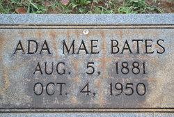 Mary Ada Mae <i>Lewis</i> Bates