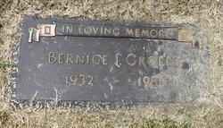 Bernice I. Groene