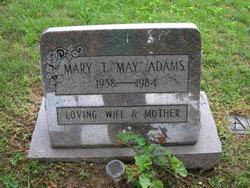 Mary Teresa May <i>Urbas</i> Adams
